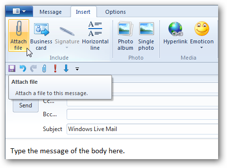 signature windows live mail image
