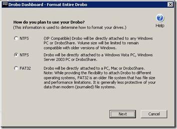 Dashboard Format Drive