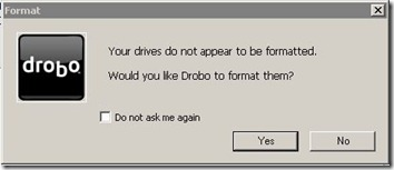 Drobo Format