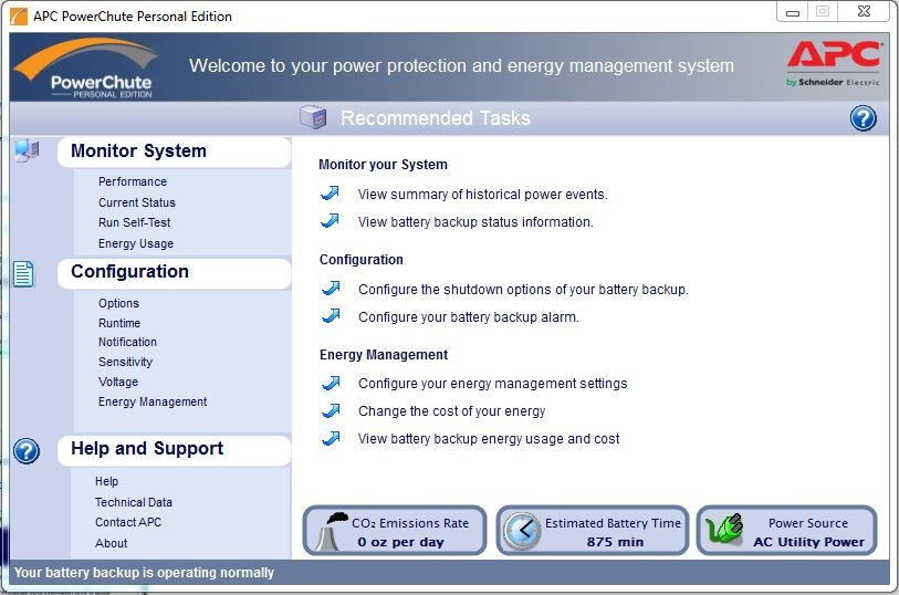 The APC 1000VA Power Saving Green Back-UPS XS – with LCD Display